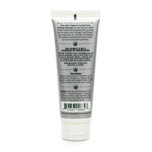 Uncle Bud's Hemp Personal Lubricant back