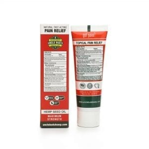 Uncle Bud's Hemp Maximum Strength Topical Pain Relief