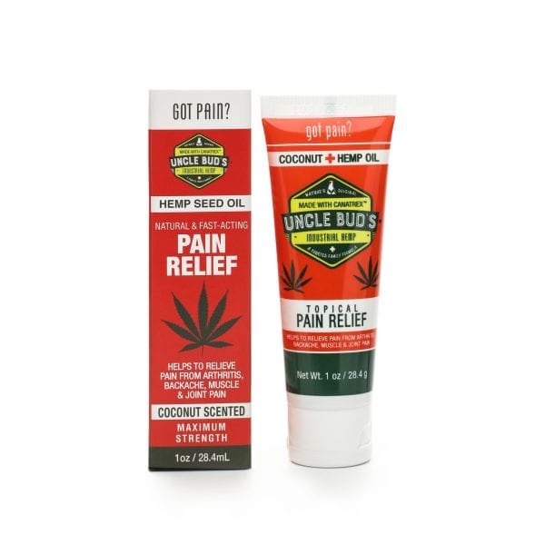 Uncle Bud's Hemp Topical Pain Relief