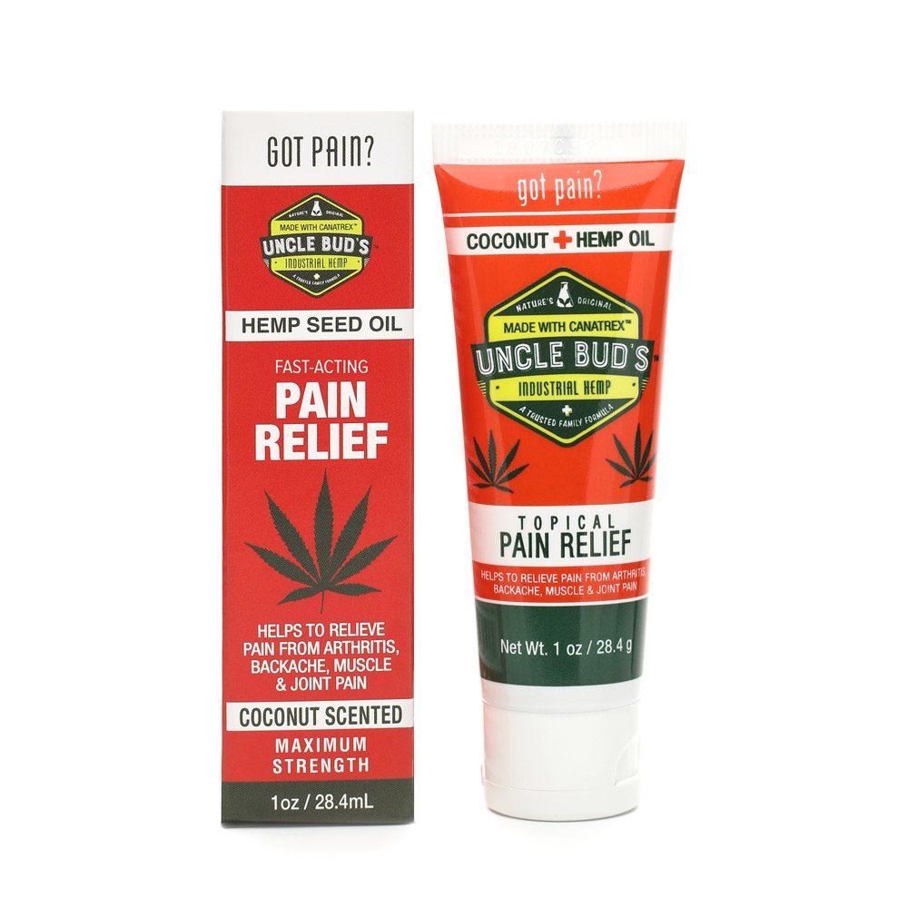 Hemp Topical Pain Relief