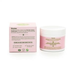 Miss Bud's Hemp Feminine Balm back