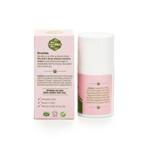 Miss Bud's Hemp Feminine Cream back