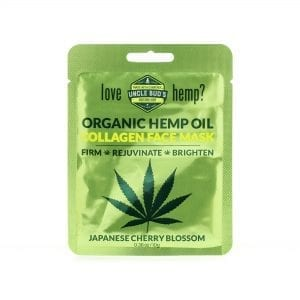 Uncle Bud's Hemp Collagen Face Mask