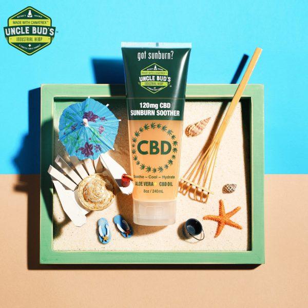 Uncle Bud's 120 mg CBD Aloe Soothing Gel