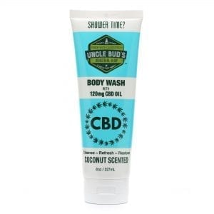 Uncle Bud's 120mg CBD Coconut Body Wash