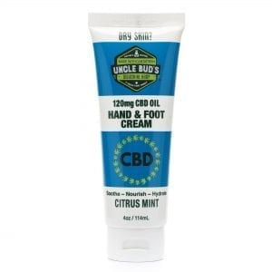 Uncle Bud's 120mg CBD Hand & Foot Cream