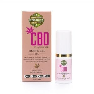 Miss Bud's 15mg CBD Under Eye Oil