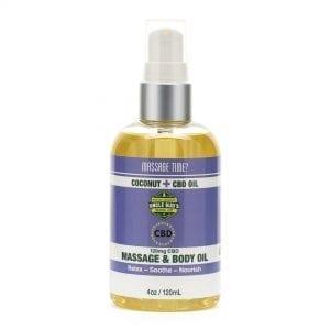 Uncle Bud's 120mg CBD Massage & Body Oil