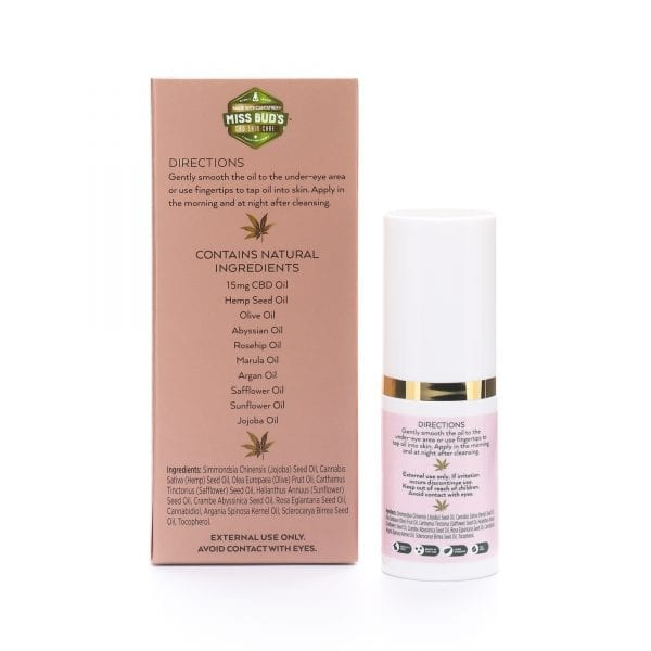 Miss Bud's CBD Under Eye oil