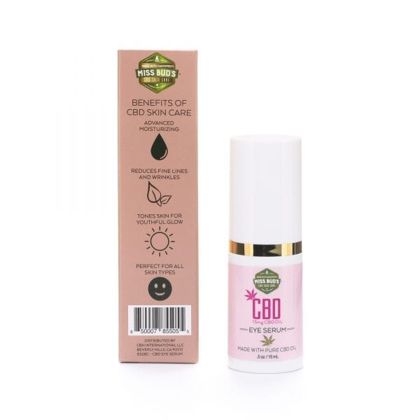 Miss Bud's CBD Eye Serum -01