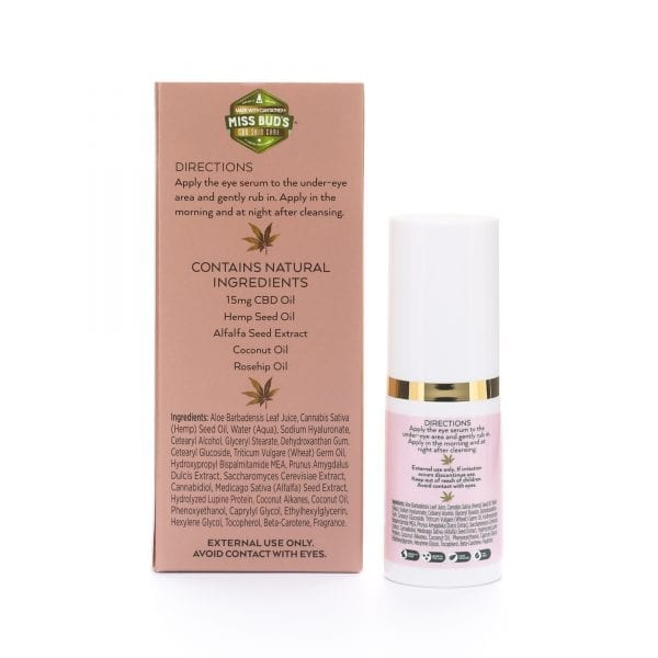 Miss Bud's CBD Eye Serum