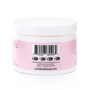 Miss Bud's 120mg CBD Body Butter Back-02
