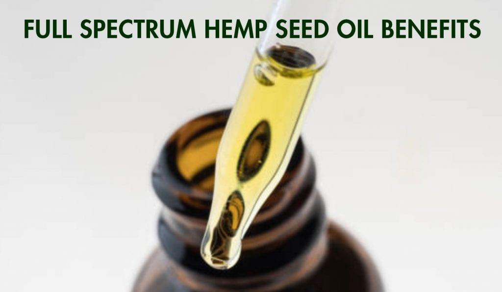 Full Spectrum Hemp Oil benefits- Article Header Pic