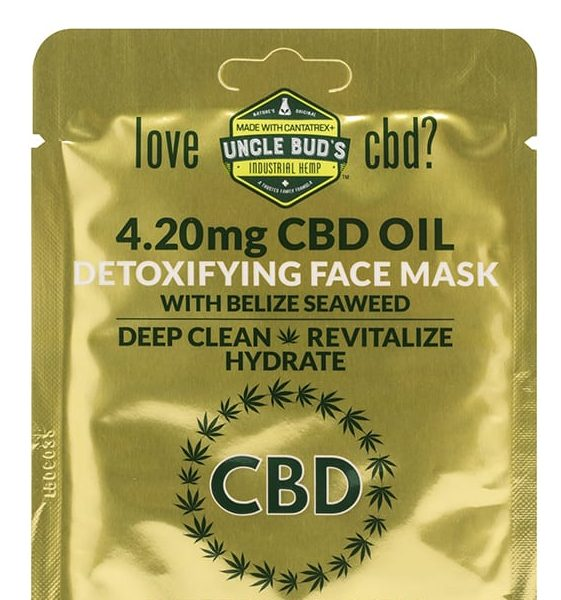 CBD Detoxifying Face Mask image 01