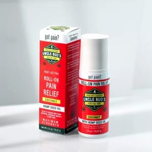Uncle Bud's hemp Pain Relief Roll-on