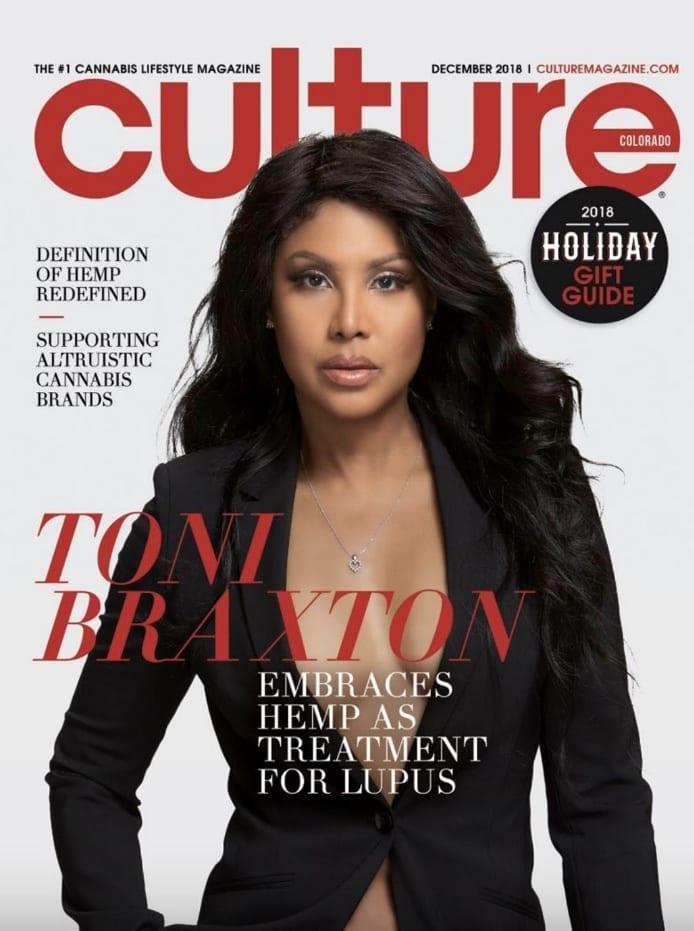 Toni Braxton Uncle Bud's Hemp Culture Cover Magazine