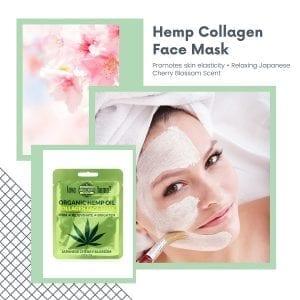 Collagen Hemp infused beauty Face mask