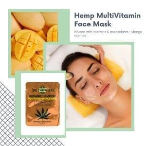 MultiVitamin hemp infused beauty Face Mask