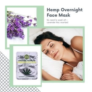 Over Night hemp infused beauty face Mask