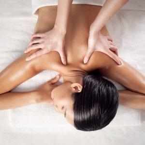 CBD Massage Oil Woman