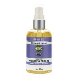 Uncle Bud's CBD Massage & Body Oil Product image -3