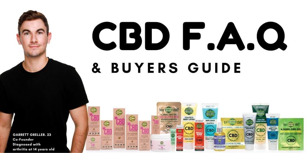 CBD FAQ Buyer Guide