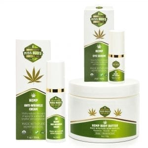Miss Bud's Hemp Skin Care Set