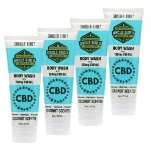 CBD Body Wash 4 Pack