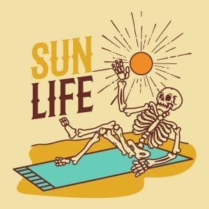 Uncle Bud's Hemp Summer Skincare Guide Skeleton