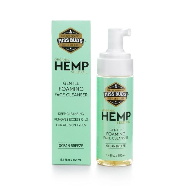 Hemp Foaming Face Cleanser