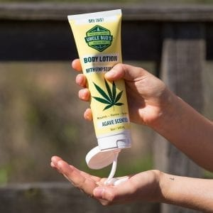 Jane Fonda Uncle Bud's Hemp Cream Body Lotion