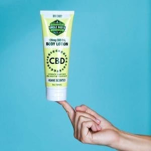 Uncle Bud's CBD Store Body Lotion
