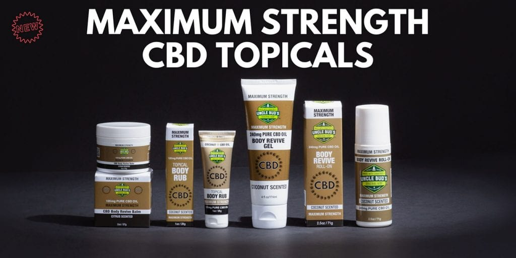 New maximum strength CBD Banner