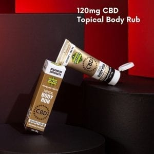 Maximum strength CBD Body Rub