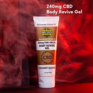 body revive gel maximum strength CBD