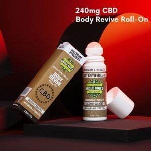 Maximum strength CBD Roll-On