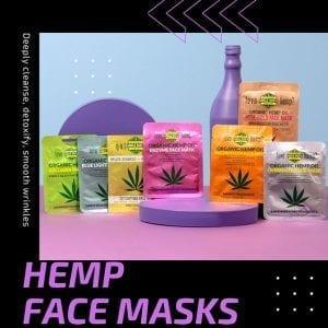 Hemp Home Care Face Masks