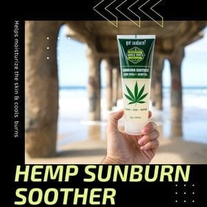 Hemp Home Care Sunburn Soother