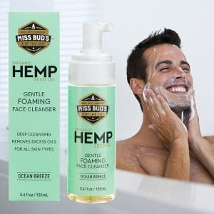 Hemp for every body face cleanser
