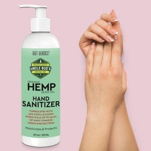 Uncle Bud's Hemp Hand Sanitizer