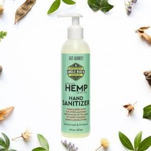 Hemp for every body hand sanitizer