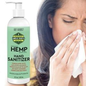 Hemp Hand Sanitizer