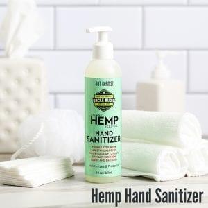 Hemp Gets You Clean Hand Sanitizer