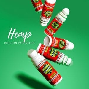 Uncle Bud's Hemp Pain Relief Products Roll-on