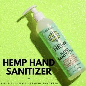 most popular hemp products hand sanitizer