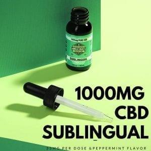 most popular hemp products sublingual