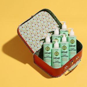 6 pack of Uncle Bud's Hemp Hand Sanitizer Set