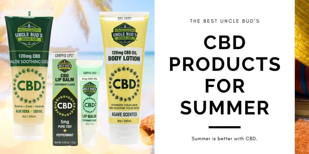 CBD Products for Summer Header