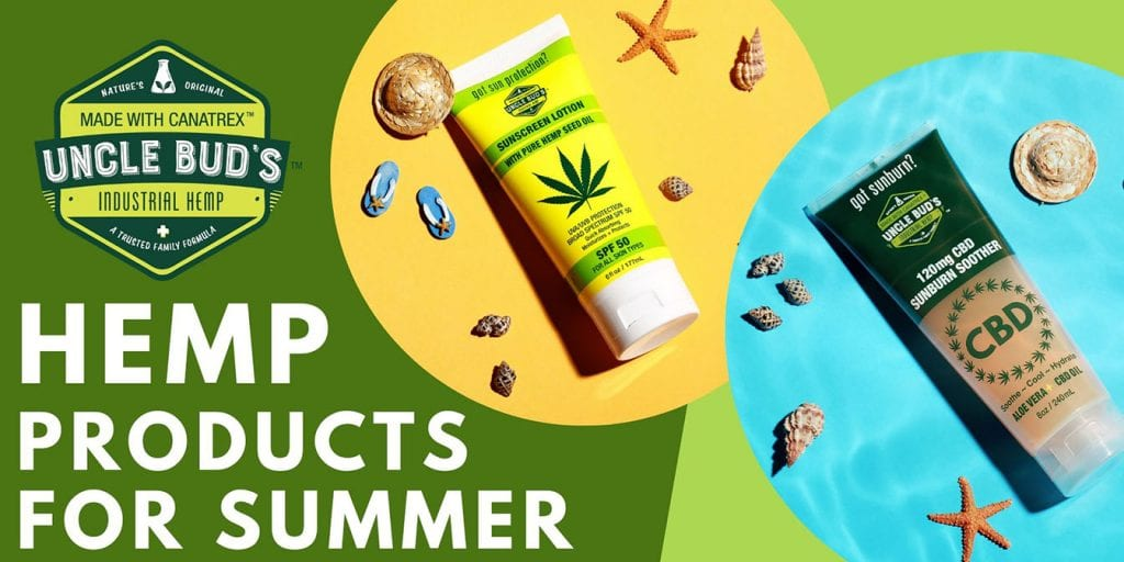 Summer Hemp Products Header