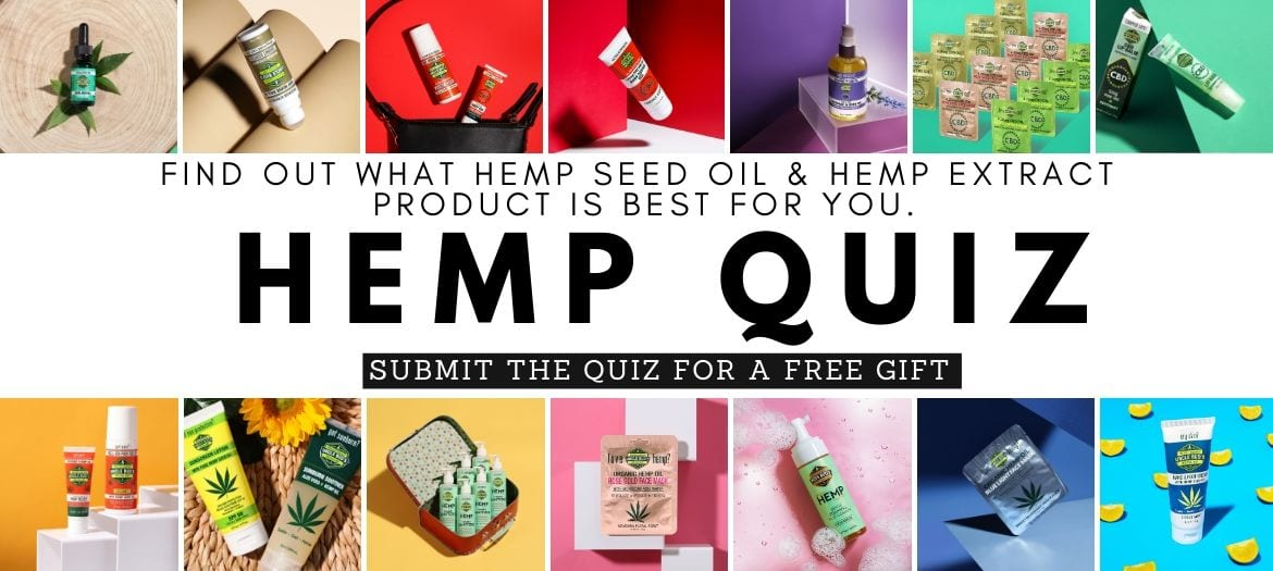 Free Product Quiz | Uncle Bud's Hemp | Take the Quiz